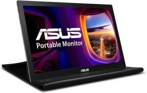 monitor plegable y compacto de asus