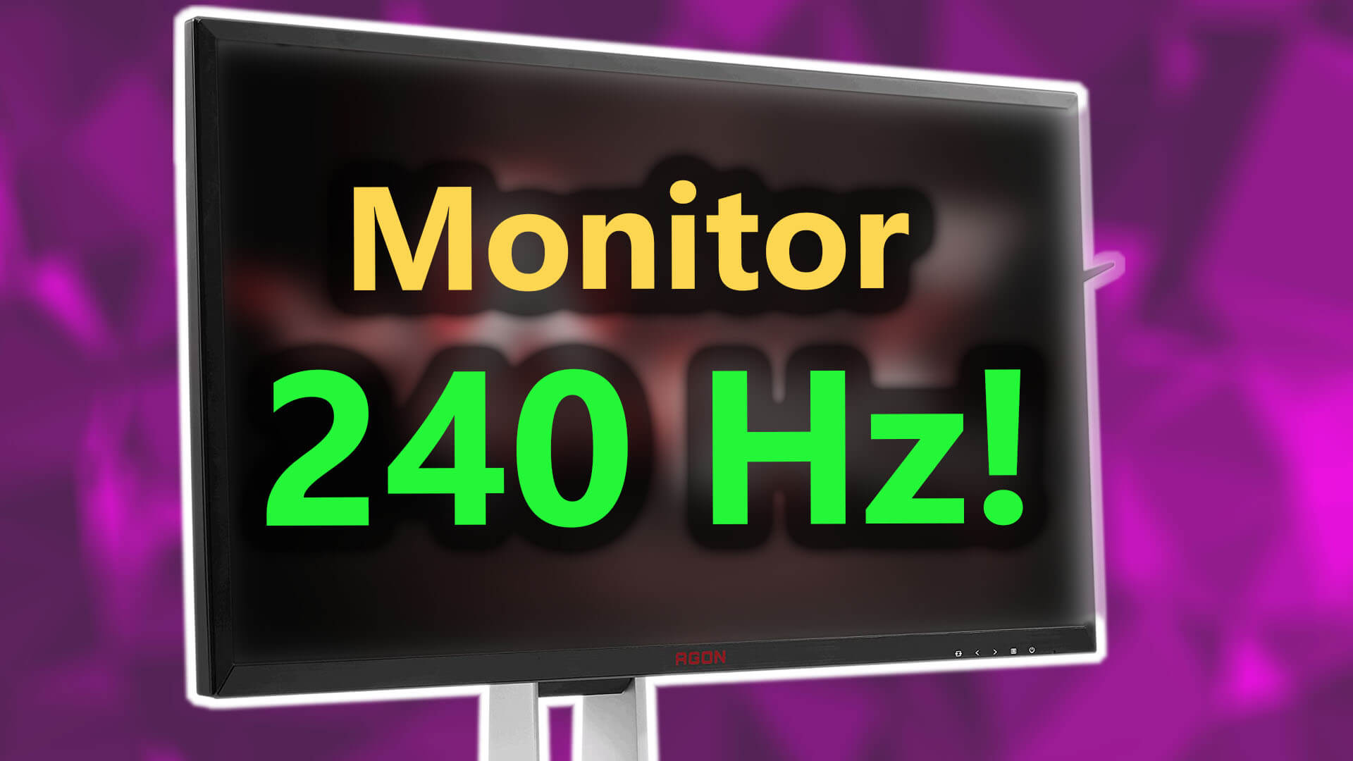 mejores monitores 240hz gaming