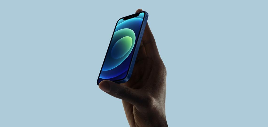 Diseño Móvil compacto iPhone 12 mini 5G