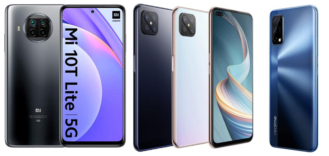 Diseños de móviles de gama media