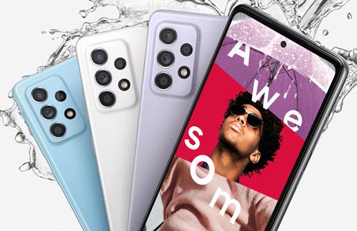 Diseño Samsung Galaxy A52 5G