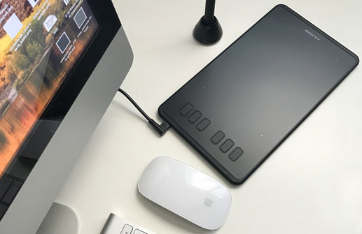 tableta grafica compatible con macOS