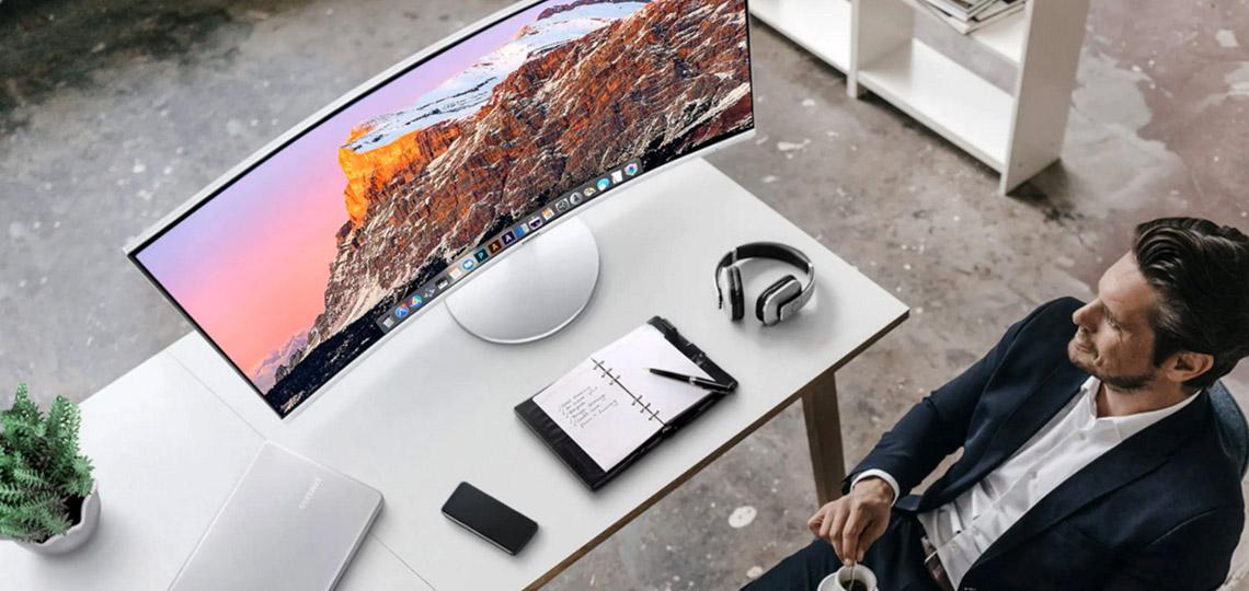 Monitor curvo Samsung C34J791