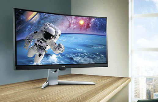 Monitor curvo ultrawide panorámico BenQ EX3501R