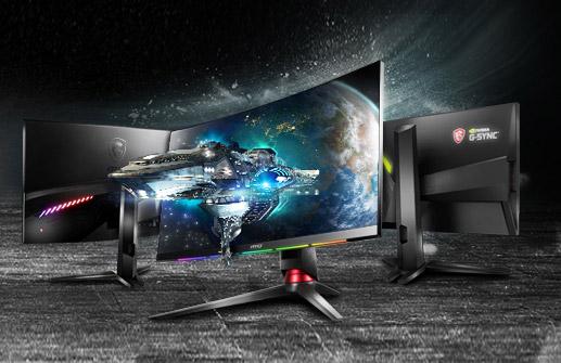 Monitor curvo barato MSI Optix G24C6