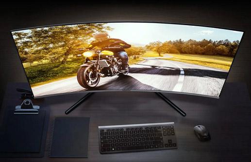 Monitor curvo Samsung U32R592